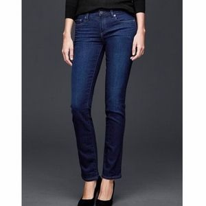 Gap Real Straight Dark Wash 30R